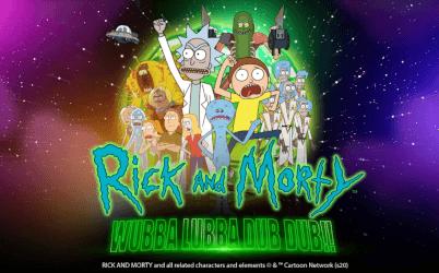 Rick and Morty Wubba Lubba Dub Dub Online Pokie