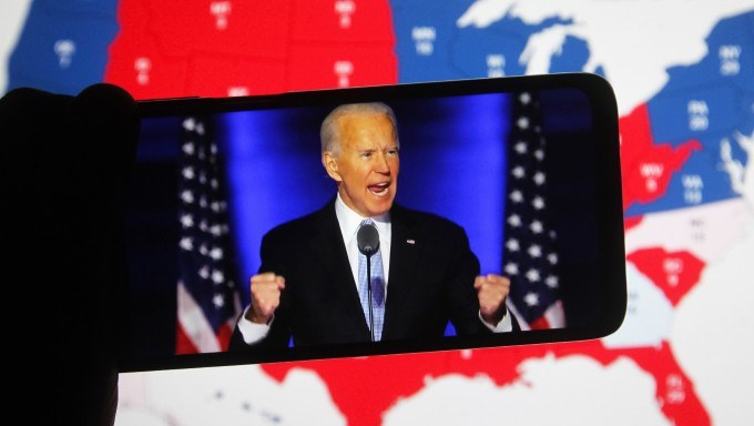 Punters Are Betting On Joe Biden's Inauguration Speech