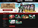Guts Live Casino Screenshot