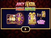 Juicy Joker Mega Moolah Screenshot 1