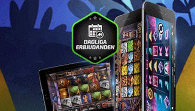 Dagliga bonusar när du vill spela casino med Android