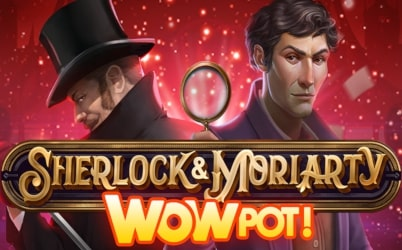Sherlock & Moriarty WowPot Online Pokie