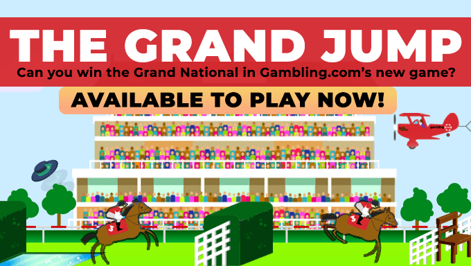 "Gambling.com Launches ""The Grand Jump"" Horse Racing Game"