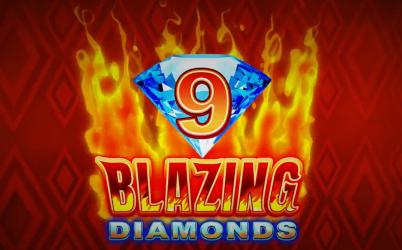 9 Blazing Diamonds Online Pokie