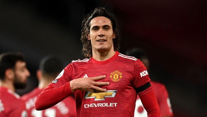 Man Utd Star Edinson Cavani Tops Premier League Supersub Stats