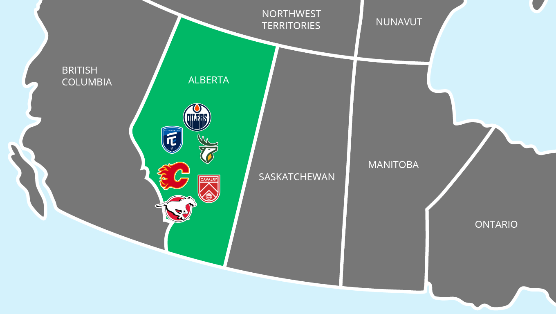Sports Franchises Based in Alberta