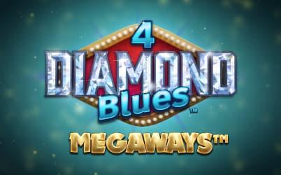 4 Diamond Blues Megaways Online Slot