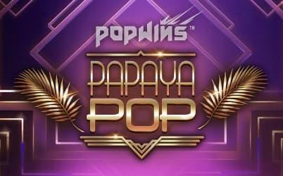PapayaPop Online Pokie