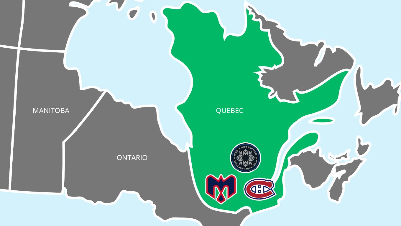 Sports Franchises Based in Quebec