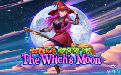 Mega Moolah The Witch's Moon Online Slot