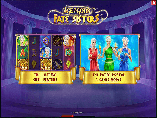 Play Age of the Gods: Fate Sisters Online at Casino.com Australia