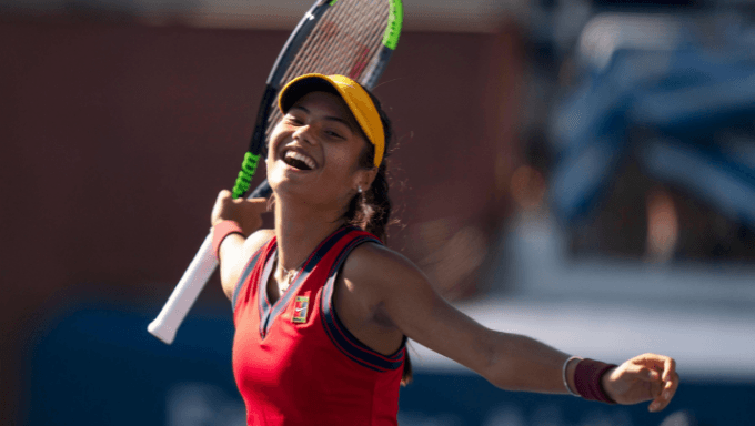 Emma Raducanu Favourite To Win US Open After Being 400/1