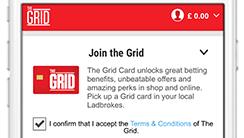 Grid card ladbrokes betting horse racing betting form