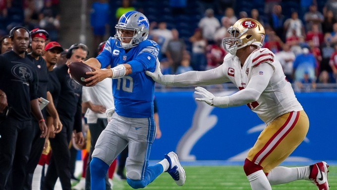 Double Your Money with FOX Bet if the Detroit Lions Score a TD