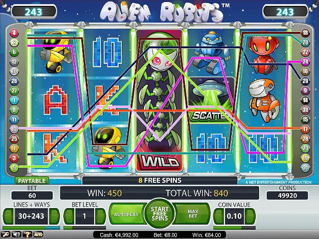 Alien Robots Online Slot - NetEnt - Rizk Online Casino Sverige
