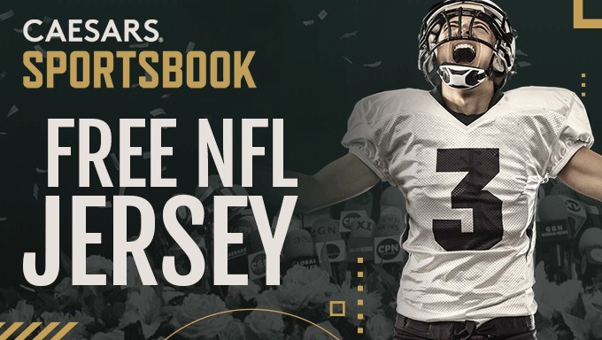 Last Chance For Caesars Sportsbook Free NFL Jersey Promo