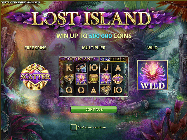 Lost Island Online Slot - NetEnt - Rizk Online Casino Sverige