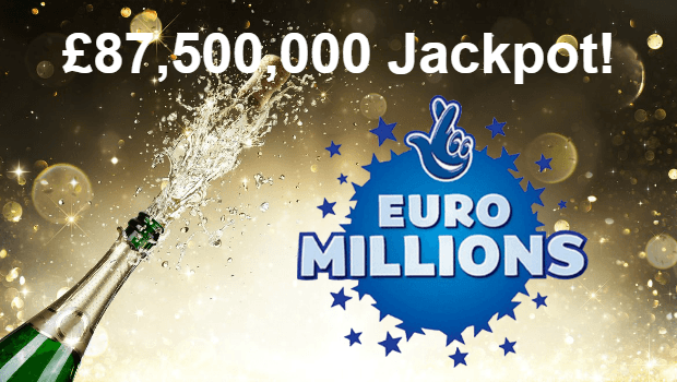 UK Player Takes Home £87m EuroMillions Superdraw Jackpot