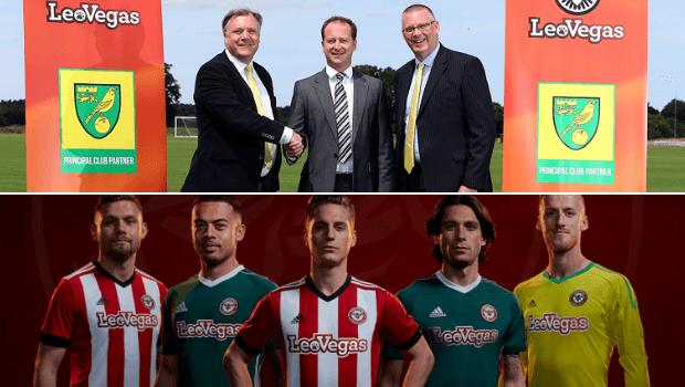 LeoVegas Picks Up First Two Football Club Sponsorships