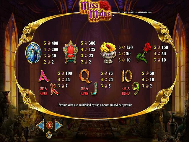 Miss Midas™ Slot Machine Game to Play Free in NextGen Gamings Online Casinos
