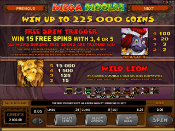 Mega Moolah Screenshot 4