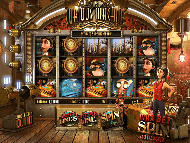 Miles Bellhouse And His Curious Machine™ Slot Machine Game to Play Free in BetSofts Online Casinos
