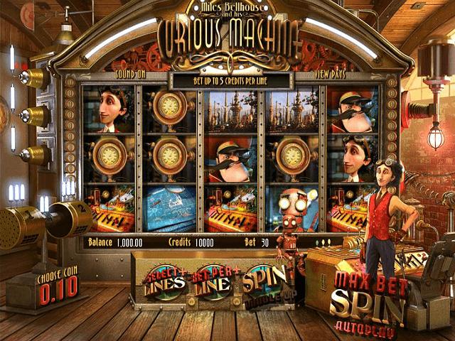 Miles Bellhouse And Curious Machine Slot Machine
