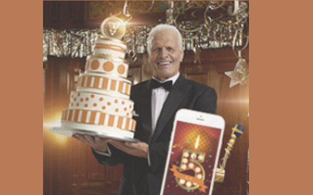 Leo Vegas nätcasino firar födelsedag med casino bonus