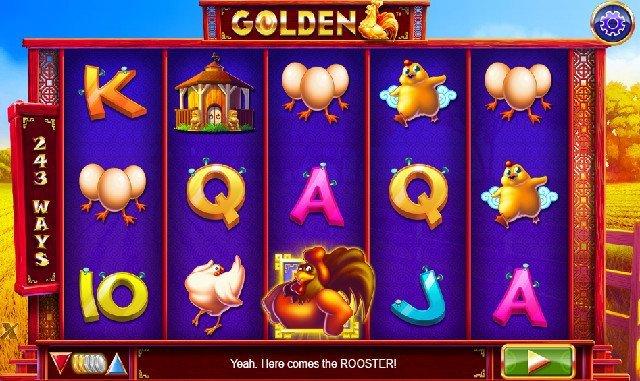 Nätcasino ger dig nytt spel med guldtupp och bonus