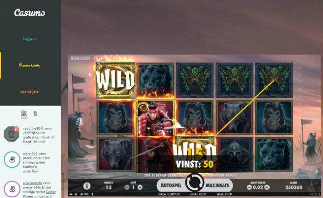 Feta casinobonusar och nya NetEnt-spelet redan idag hos Casumo!