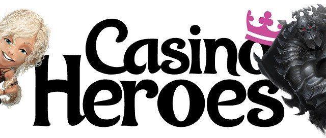 Bra insättningsbonus och stora gratissnurr hos Casino Heroes