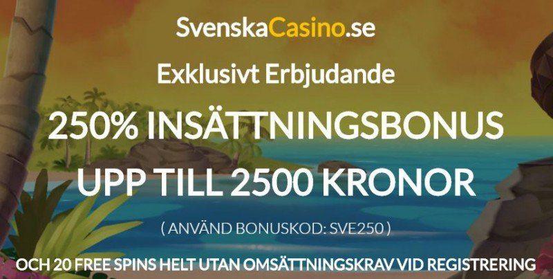 Sommarens bästa casinobonus är här!