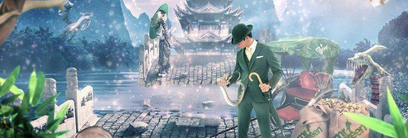 Pengaregn i den nya spelautomaten hos Mr Green!
