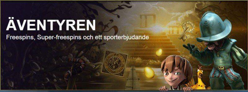Dagens bästa casinobonus finns hos SverigeKronan!