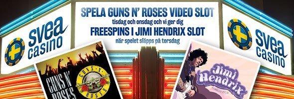 Rockåret 2016 fortsätter på svenska nätcasinon