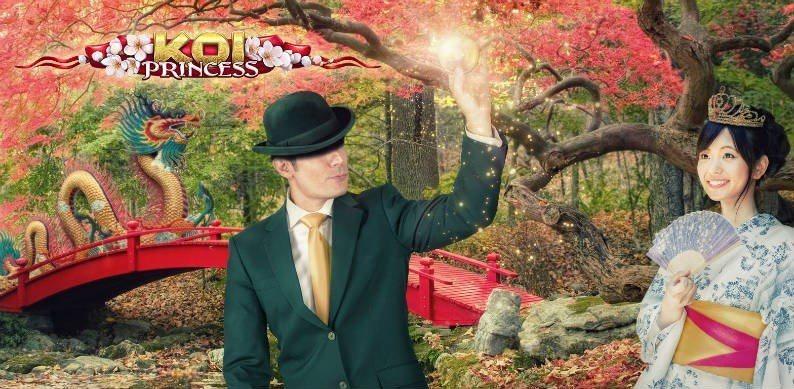 Spela roulette med Koi Princess hos Mr Green