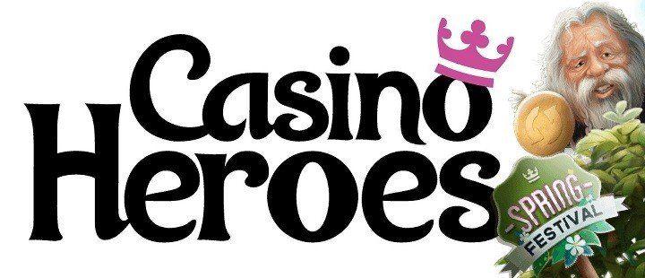 Nya bonusar fortsätter firandet av Casino Heroes vårfestival
