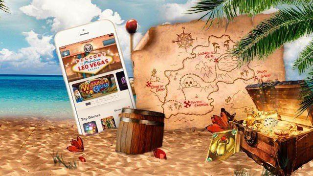 Skattjakt i mobilen med Apple-Gold-prylar i potten