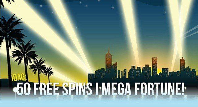Lyxiga gratissnurr inleder helgen hos Sweden Casino