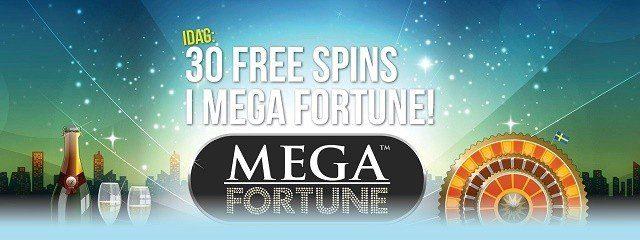 Sweden Casino ger bort jackpott-free spins idag!