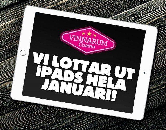 Fortfarande iPads kvar att vinna hos Vinnarum