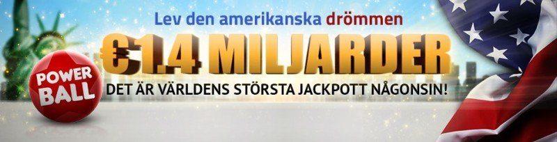 Inga svenska vinnare av världshistoriens största Powerball-jackpott