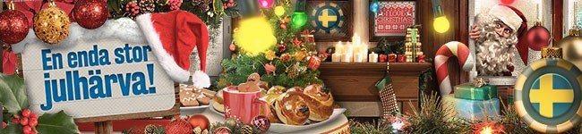 God jul med free spins hos SveaCasino