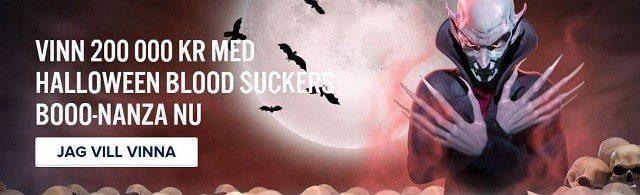 Hemsk Halloween-vecka hos svenska casinon