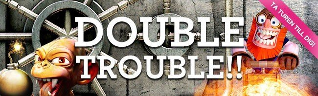 Dubbla problem är inga problem i helgen hos Vinnarum