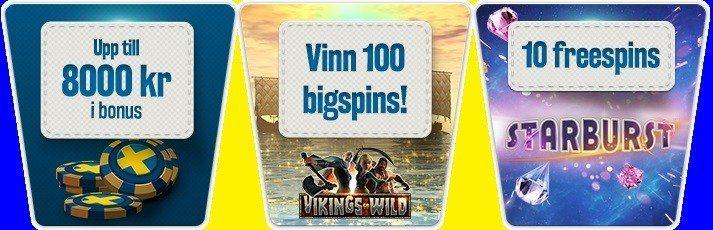 Vikingavinster hos Svea Casino!