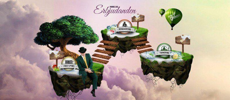 Casino-kampanjer vävs samman och lyfts till himmelska höjder
