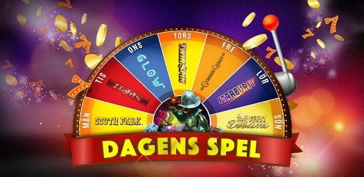 Free spins varje dag hos SverigeAutomaten