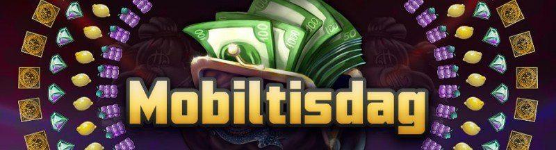 Mobilcasino-cash-back idag hos Svenskalotter