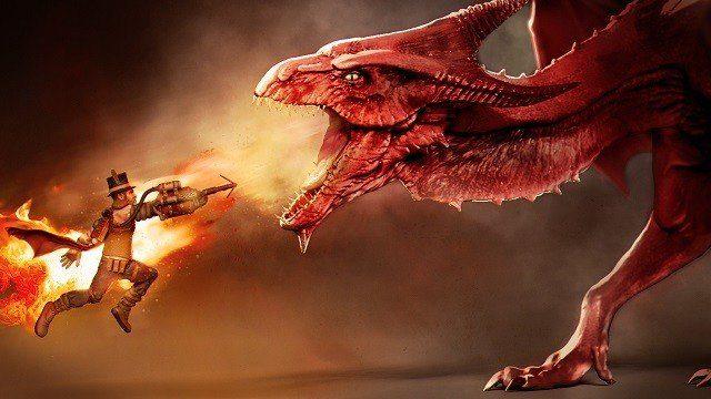 Klättra till toppen och besegra draken!